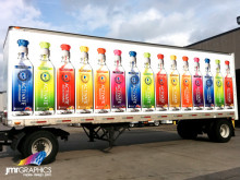 Activate Drinks Trailer Graphics