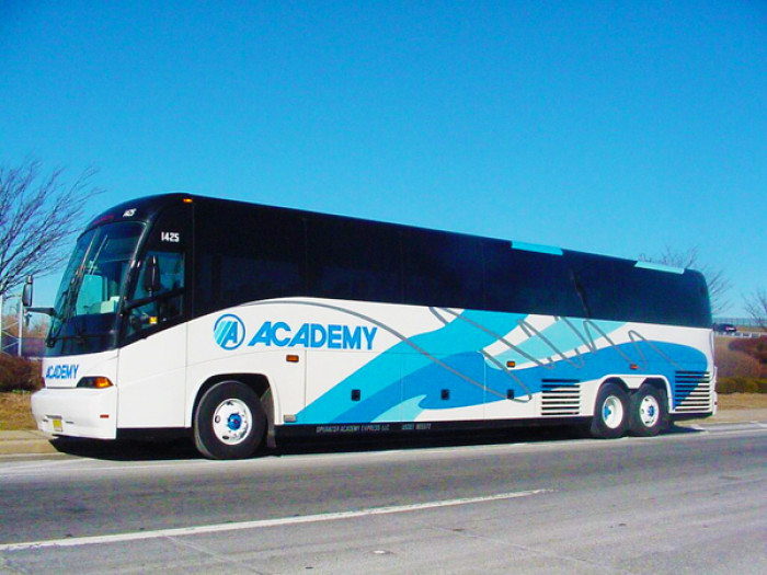 Academy Bus Co. Bus Graphics