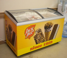 Jack & Jill Ice Cream Vinyl Freezer Graphics