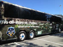 MLS All Star Game Bus Graphics