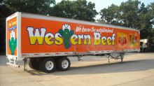 Western Beef Vinyl Trailer Graphics