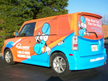 Calldirek Vehicle Wrap