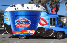Dairy Queen Truck Graphics