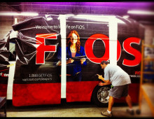 Verizon Fios Sprinter Van Vehicle Graphics